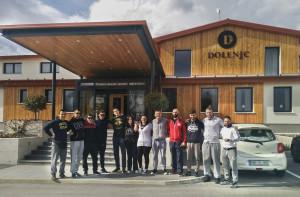 HOTEL DOLENJ'C IN SCORPION GYM POVEZALA SLOVENIJO IN HRVAŠKO